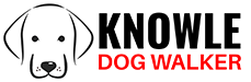 Knowle Dog Walker Logo