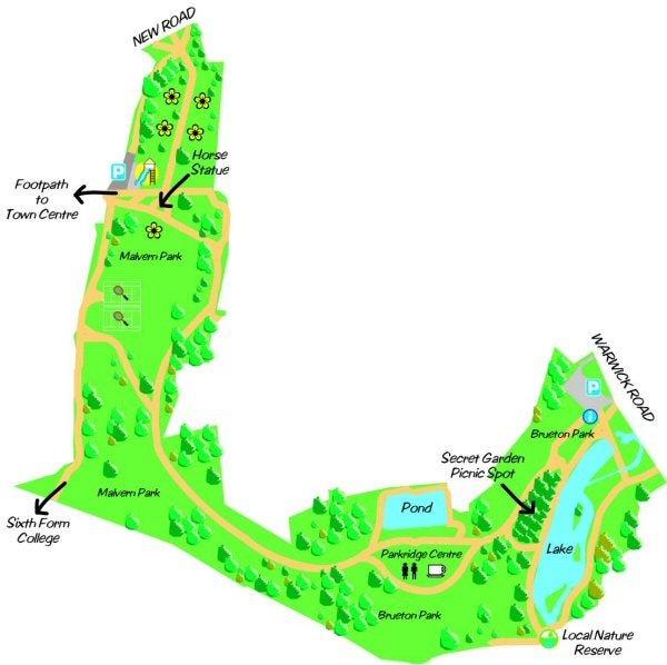 Brueton Park Map