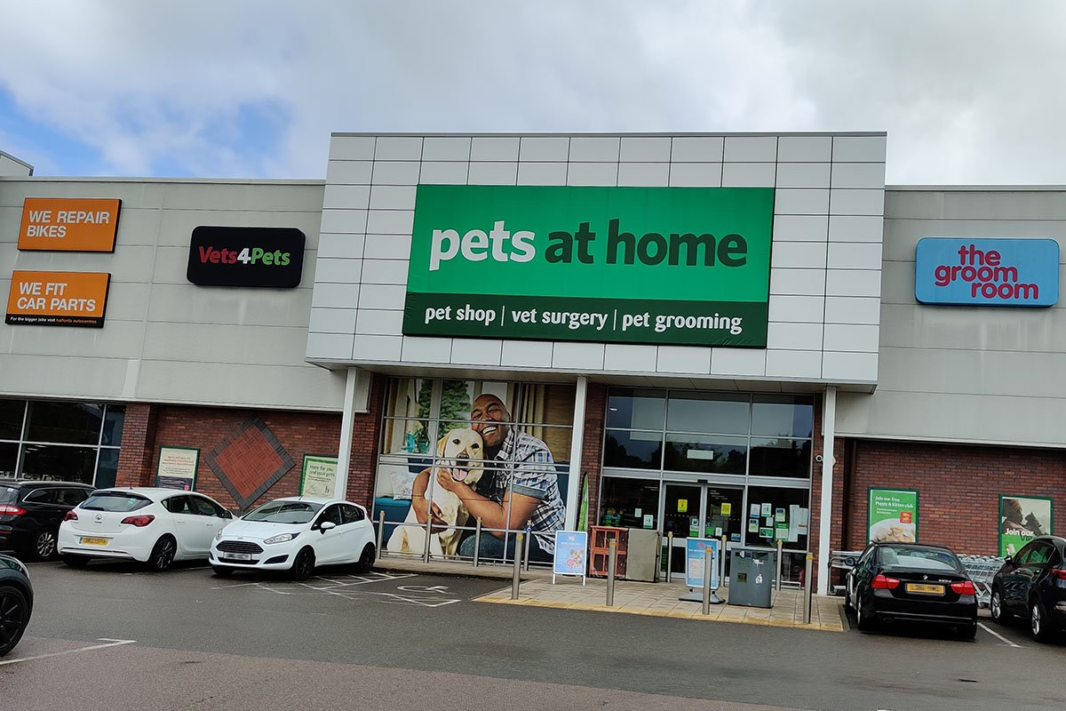 Pets at Home Solihull storefront
